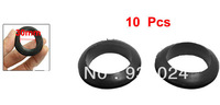 Wire Protective Black Rubber 30mm Inner Dia Double Sided Grommet