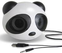 Hot Mini Panda Speaker Stereo House Voice Laptop Mobile Phone Sound Box MP3 Player Free Shipping