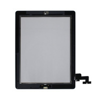 100% guarantee original for ipad 2 touch screen digitizer panel free shipping