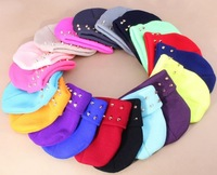 Free shipping! 2013 Fashion men's rivet acrylic beanies caps knitted fluorescence winter hats beanie cap for women 1385