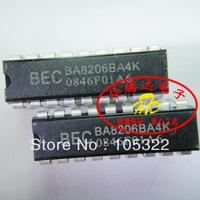 Free shipping new & original BEK chip BA8206BA4K, DIP-18, Fan control circuit