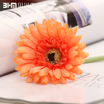 Decoration flower Furnishings new house artificial flower decoration flower silk flower artificial flower gerbera daisy
