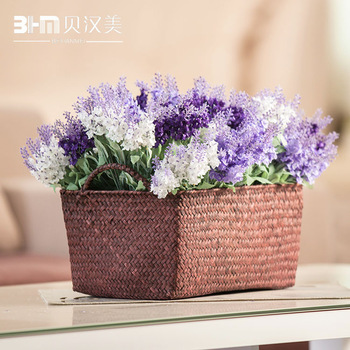 Furnishings artificial flower decoration flower silk flower dried flowers provins 10 lavender three-color