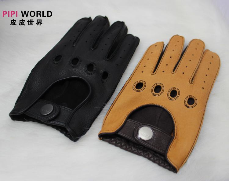 Online kopen Wholesale motorcycle gloves leather brown uit China motorcycle gloves leather brown