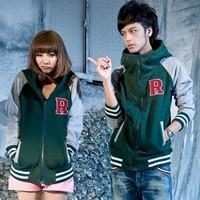 women hoodie, autumn and winnter hip-hop lovers baseball uniform jacket hooded sweatshirt , big sizehave xxxl size