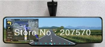 GPS Car Parking sensor & Rearview Mirror 4 Parking Sensors Car Backup Reverse Radar Rearview Mirror parking sensor system