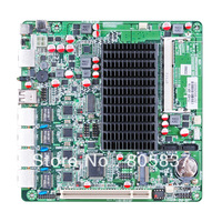 Fanless Atom D2550 Router motherboard with 4 lan