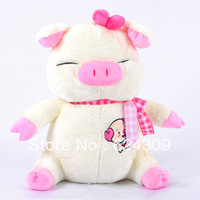 Free shipping Lint doll of Mr.Bean Pig plush toys it is cute lovely and safety Gift for girlfriend and children and wedding
