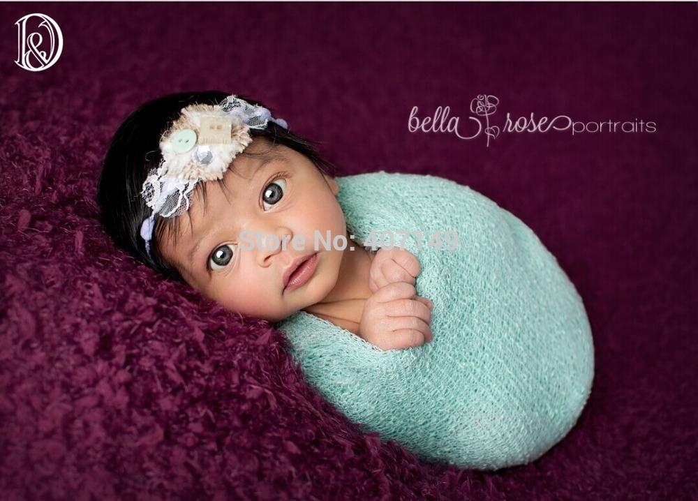 Free shippingstretch knit wrapmaternity to newborn photography wrapsbaby showerhammockswaddlings and paddingnubble wraps