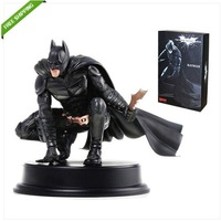"Free Shipping High Quality Offcial Crazy Toys The Dark Knight Rises 8"" High 22CM BATMAN Assembly Figure NIB"