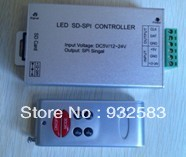 New LED RF Wireless SD card SPI controller,for strip light,6keys