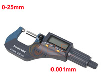 0-25mm/0-1'' 0.001mm/0.00005'' Electronic Digital Micrometer Good Quality High Accuracy Outside Digital Measurement Micrometer