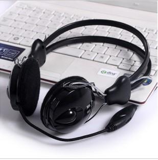 HOT Computer earphones internet cafes earphones headset earphones logo(China (Mainland))
