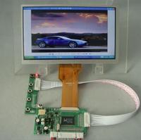 VGA+2AV Reversing driver board + 7inch AT070TN92 800X480 lcd display