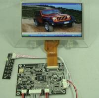 VGA+2AV+Reversing controller board HCR-N1 V2+7inch AT070TN92 800X480 16:9 TFT