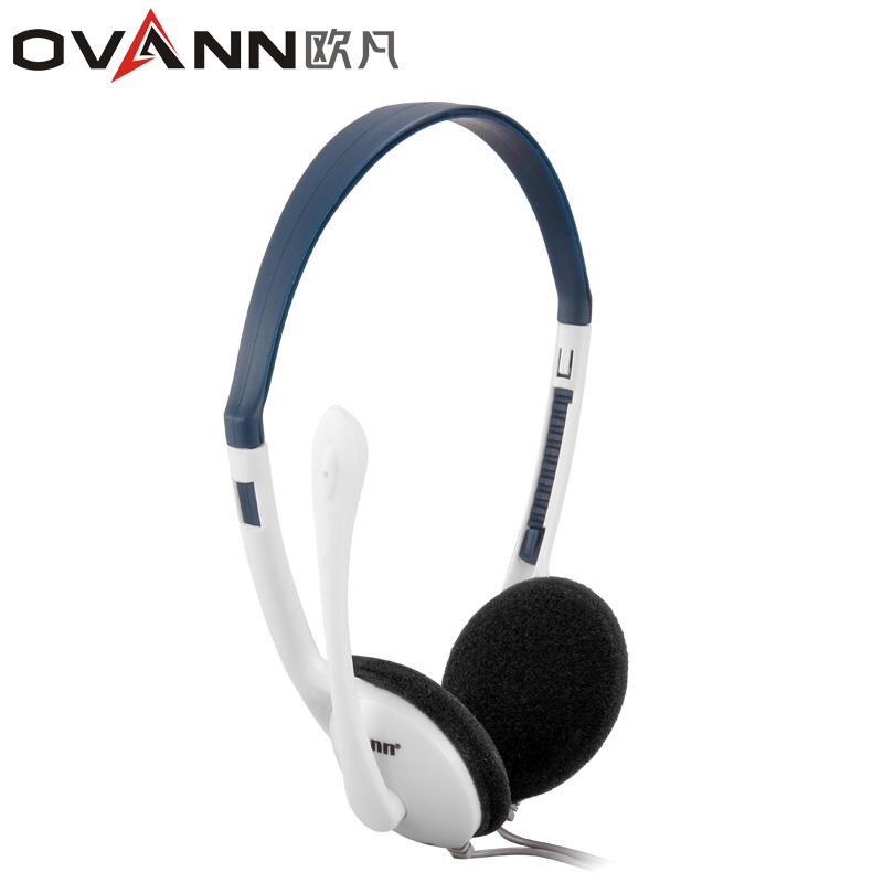 CHeap Ov-t201mv headset computer earphones headphones on ear earphones external microphone earphones(China (Mainland))