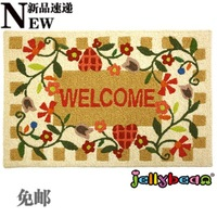 Jellybean jam welcome decorative pattern eco-friendly mats door mat entrance mats