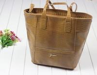 Luxury famous brand women handbag bolsa com franja 2014 bolsa feminina vintage designer crocodile shoulder bags quality hand bag