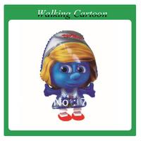 walking cartoon baloon, helium balloon 100pcs/lot, mix styles for you, free shipping