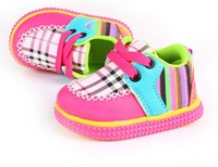 Free shipping 1pair/lot Fashion Unisex Kid Shoes Sneakers Boy & Girl Toddler Shoes with PU