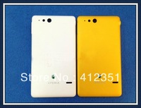 White/Black/Yellow New Original housing back battery cover case door For Sony Xperia Go ST27i ST27 Free shipping
