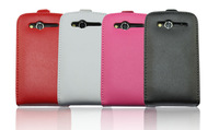 4color,High Quality leather case for HTC A510e G13 Wildfire S G8s,Doormoon 100%Real cowhide cover,Free shipping