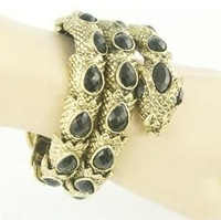 Free shipping more than $15+gift jewelry fashion snack acrylic vintage best quality multi-circle animal gift bracelet