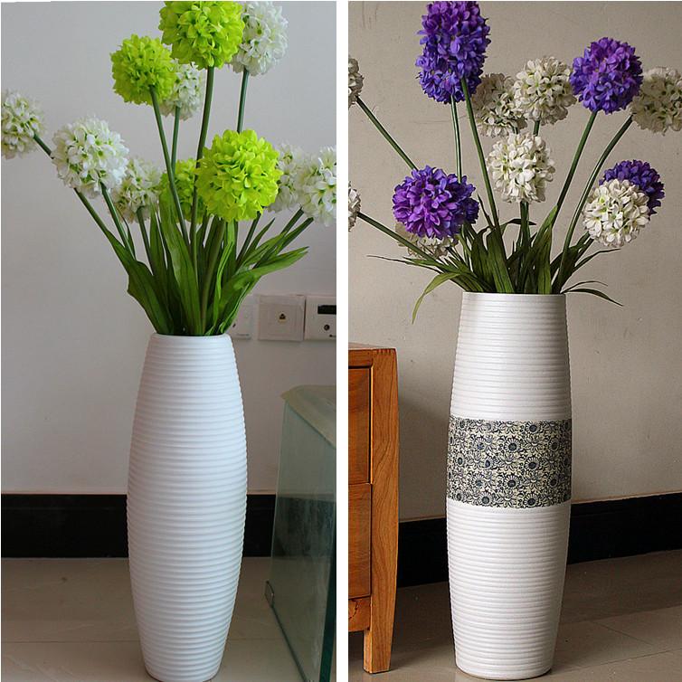 Большая ваза с цветами своими руками
