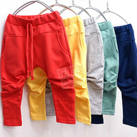 2013 autumn all-match boys clothing girls clothing baby child trousers casual pants kz-2108