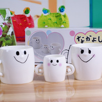 Ceramic parent-child cup hand-in cup tendrils cup