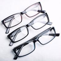 Myopia glasses frame fashion optical glasses vintage male Women plain mirror belt lenses glasses