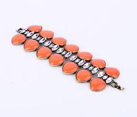 Min $20  fashion accessories bohemia quality orange gem bracelet
