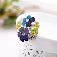 Min $20 Accessories big flower Women ring