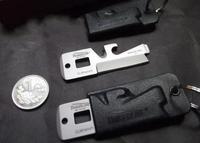 10pcs/lot Mini TIMBERLINE EDC Stainless Survival Tool with Knife Bottle Opener+ Plastic Holster Key Ring TB-0495