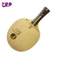 729 table tennis ball base plate v-6 5 pure wood 2 carbon horizontal monoblock