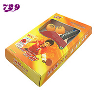 729 table tennis ball 2040 quality finished product 7 wood base plate double red line double