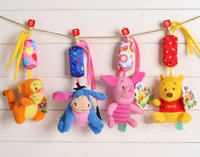 Bed cathe hanging doll Wind chimes baby toy 0-12 months newborn gifts cot toy 4 PCS/set plush product