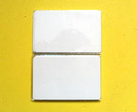 Free Shipping 20pcs NFC 13.56MHz MF1S50 Rfid Card Re-writable White Card For Access Control System