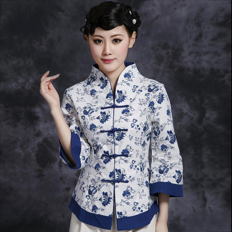 Китайская традиционная кофта No name 3XL 2XL 4XL 5XL цена
