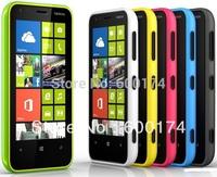 Hot cheap phone unlocked original Nokia Lumia 620 windows8 wifi 3G 5MP. camera TouchScreen GPS smart refurbished mobile phones