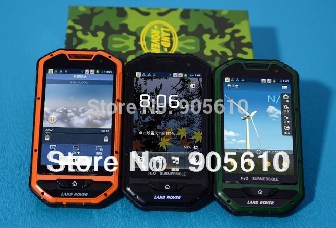 A1 IP67 Android Smart Phone 4.0 Inch MTK6515 1Ghz 256MB RAM Dual SIM GSM WiFi Dual Camera Russia Free shipping(Hong Kong)