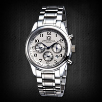 Carnival male watch needle mirror sapphire mens watch stainless steel waterproof fully-automatic mechanical watch