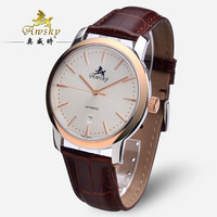 Men's watch fully-automatic mechanical watch waterproof 2824 movement strap back through the male watch