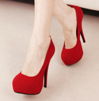 New arrival 9333 2013 11cm ultra high heels single shoes princess sexy platform wedding shoes gentlewomen women's shoes