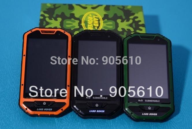 """4.0"""" A1 Waterproof Android Phone MTK6515 1Ghz 256MB RAM Dual SIM WiFi Dual Camera Russia Free shipping(Hong Kong)"""