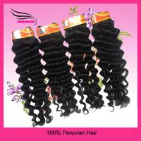 Big discount Peruvian human, Hair, deep wave, 12~28inch, DHL free shipping
