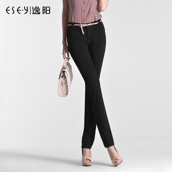 Pants 2013 spring high-elastic mid waist casual pants long trousers 0385
