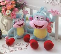 [HWP] Adventure time  Dora the Explorer BOOTS The Monkey Plush Dolls Toy 35CM Stuffed Animals & Plush Movies & TV