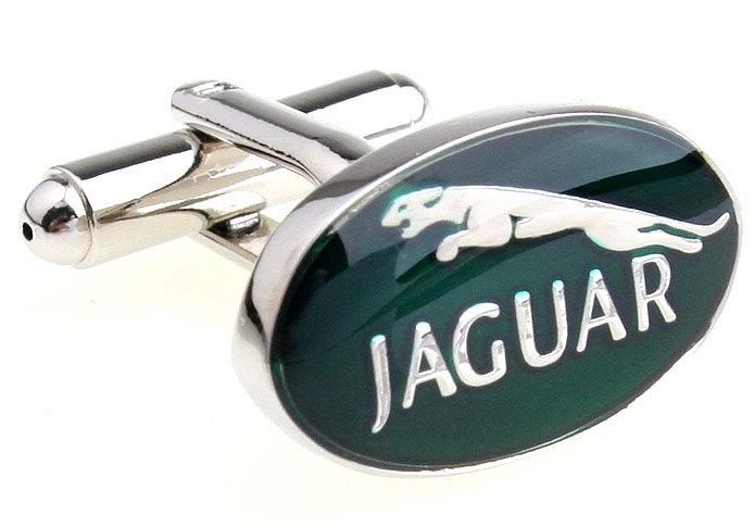 знак автомобилей Jaguar формы запонки 1326
