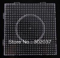 5mm diy magic transparent big geometry a piece of big square pegboard free shipping